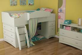 camaflexi twin low loft bed with storage 27 south s imagine pure bedroom design