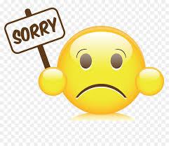 Desktop Wallpaper Sorry Smiley Sorry Png Download 4040 Impressive Sorry Image Download