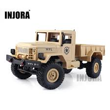 Children Toy 1 :16 Scale Rc Rock Crawler Off Road 4wd Military Truck ...