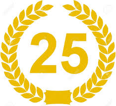 Image result for 25 years anniversary