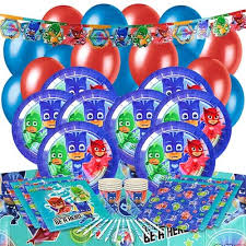 Pj Mask Party Decorations PJ Masks Party Supplies Partyrama 59