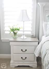 white and white furniture. nightstand chalk paint tutorial white and furniture m