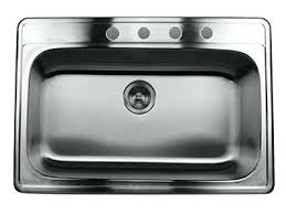 kitchen sink top view. Kitchen Sink Top Stainless Steel Inch Single Bowl Ns32 9 View .