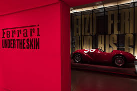 A set of 32 mm (1¼) vertical stainless steel cables supports the flat insulated glass panels. Ferrari Under The Skin Exhibition Now Open At The Design Musuem London 15 Nov 15 April 2018 Arc Street Journal
