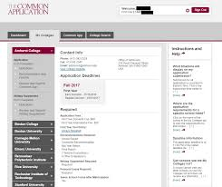 A User S Guide To The Common Application