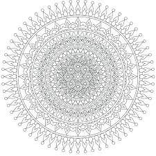 Free Mandala Coloring Pages Of Mandalas Printable Page For Adults