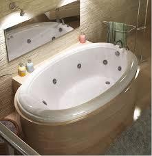 atlantis petite 60 x 36 oval whirlpool and air tub end drain
