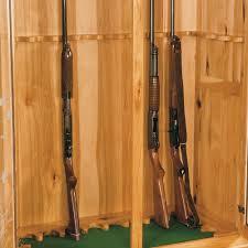 Stock On Gun Cabinet Double Door Gun Cabinet Amish Furniture Store Mankato Mn