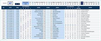 Team Schedule Maker Excel Kurup Carpentersdaughter Co