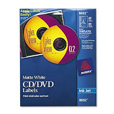 8692 template word amazon com cd labels matte white 40 disc labels and 80