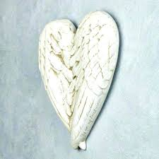 wall arts angel wings wall art wing sculptures wood small size carved look medium wooden