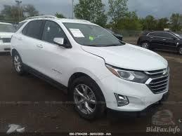 This 2020 chevrolet equinox white is up for salvage car auction in hillsborough nj. Chevrolet Equinox Premier 2020 White 1 5l Vin 2gnaxnev2l6166833 Free Car History