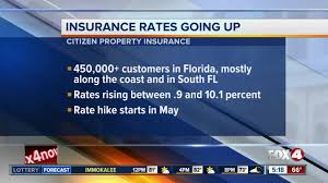 state insurance company raising rates fox 4 now wftx fort myers cape c