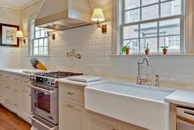 Wonderful White Kitchen Tile Backsplash Ideas 46 On Home Remodel Ideas with  White Kitchen Tile Backsplash Ideas