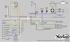 bill's norton commando mk ii full color electrical wiring diagram house wiring diagram pdf at Electrical Wiring Diagram