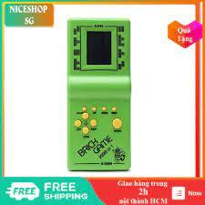 Máy chơi game 4 nút xếp gạch cổ điển huyền thoại 1 thời chính hãng