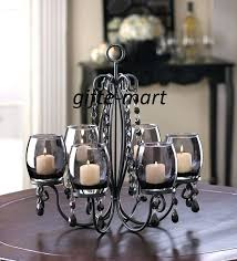 candle chandelier centerpieces for weddings votive hanging