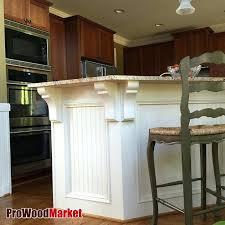 countertop corbels quartz wood granite support
