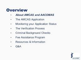 Aacomas Letter Of Recommendation 2019 The Amcas Application Process For Applicants Overview Ppt Download