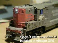 n scale model railroad lamps lights 10 warm white 1 8mm leds for n scale headlights resistors wiring diagram