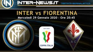 Inter-Fiorentina: le probabili formazioni dei quarti di ...