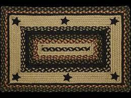 ihf rugs tartan star rectangular beige red blue area rug