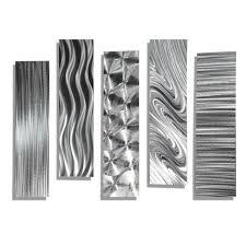 statements2000 silver metal wall art