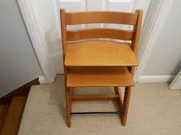 stokke tripp trapp chair in cherry