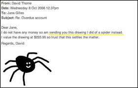 Paying Bills with Spider Drawings (Seven-Legged Spider) | Know ... via Relatably.com
