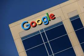 google office irvine 1. FILE PHOTO: The Google Logo Is Pictured Atop An Office Building In Irvine, California Irvine 1 E