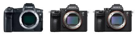 Canon Eos R Vs Sony A7 Iii Vs Sony A7r Iii