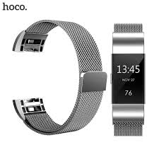 Hoco <b>Metal Strap</b> For Fitbit Versa band <b>strap</b> Screwless <b>Stainless</b> ...