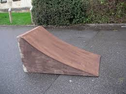 picture of skateboard bmx rc ramp