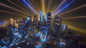 Laser Light Show Houston Museum Natural Science Projection Mapping Dazzles In Energy City Exhibit At Houston