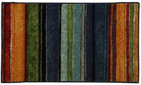dazzling mohawk rainbow stripe rug designs