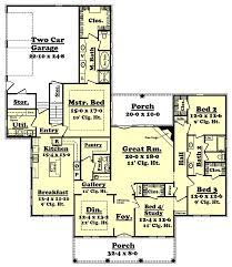 house plan 51957 french country style