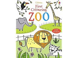usborne first colouring book zoo 3 99 usborne