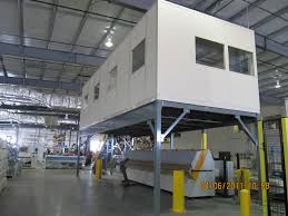 warehouse mezzanine modular office. Schletter IP On Mezzanine Warehouse Modular Office R