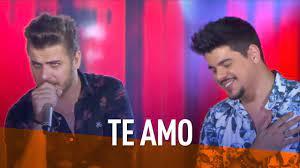 Zé Neto & Cristiano - Te Amo (DVD Festeja Brasil 2016) [Vídeo Oficial] -  YouTube