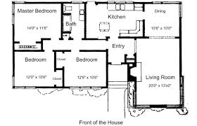 Appealing 3 Bedroom House Floor Plans Pdf Pics Decoration Ideas