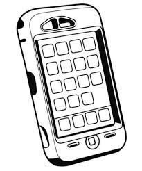 Amazing Cell Phone Printable Coloring Pages For Kids Boys And Girls