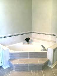 drop in corner tub bathroom floor bathrooms paint professional black tiles themes throughout corner tub ideas drop in corner tub