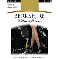 Berkshire Womens Ultra Sheer Control Top Pantyhose 4415