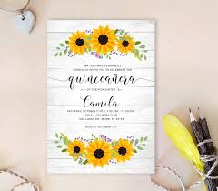 Quincenera Invitations Rustic Quinceanera Invitations