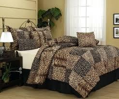 leopard print bedding comforter animal print bedding chocolate brown zebra comforter set queen inside animal print