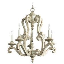 white wood chandelier farmhouse distressed antique white 5 light wood chandeliers white wood bead chandelier