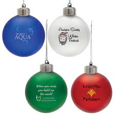Light Up Shatterproof Christmas Ornaments