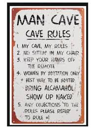 bedroom rules. free shipping man cave rules custom poster fashion bedroom decoration wallsticker psv wall paper 0529 d