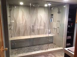 steam shower. 3/8\u201d Or ½\u201d Thick Glass \u2013 Giving You The Substantial Feel And Support Necessary For Your Shower Enclosure. Steam