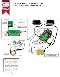 wiring diagrams seymour duncan part 12 seymour duncan telecaster wiring diagrams 2 hum, 1 volume, 1 tone, 3 way toggle with liberator
